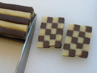 Checkerboard biscuits : Photo of step #10