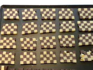 Checkerboard biscuits : Photo of step #11