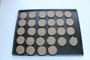 Buckwheat almond biscuits : Photo of step #6