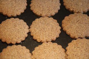 Buckwheat almond biscuits : Photo of step #7