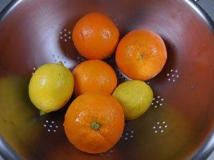 Quick orange marmalade : Photo of step #1