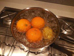 Quick orange marmalade : Photo of step #2