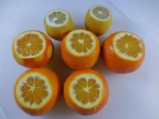 Quick orange marmalade : Photo of step #3