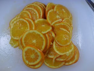 Quick orange marmalade : Photo of step #4