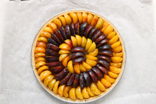 "Plum tart ""En passant par la Lorraine"" : Photo of step #8"