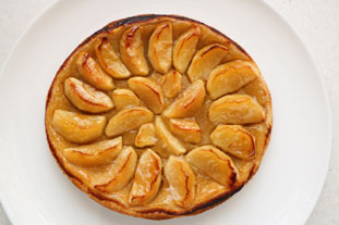 Express apple tart