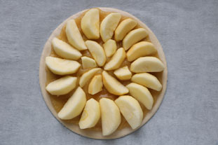 Express apple tart : Photo of step #4