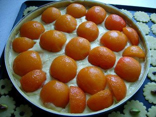 Apricot and almond cream tart : Photo of step #5