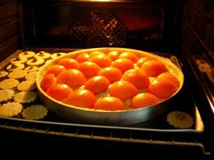 Apricot and almond cream tart : Photo of step #6