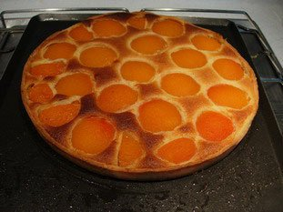 Apricot and almond cream tart : Photo of step #7