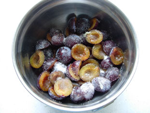 Plum tart : Photo of step #3