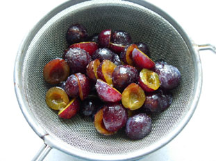 Plum tart : Photo of step #4