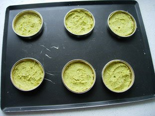 Cherry and pistachio tarts : Photo of step #3
