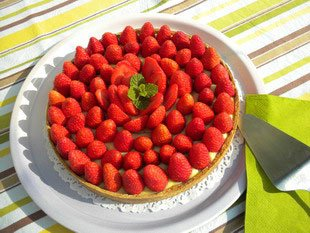 Strawberry tart : Photo of step #7