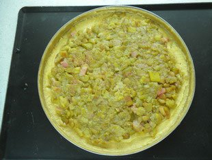 Rhubarb tart : Photo of step #6