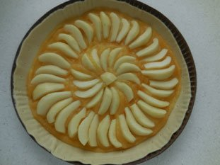 Apple and pear tart : Photo of step #4
