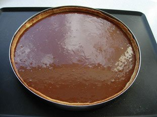 Chocolate tart : Photo of step #7