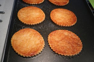 Little caramelized peach tarts : Photo of step #2