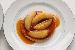 Little caramelized peach tarts : Photo of step #9