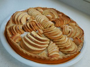 Bonnevaux apple tart