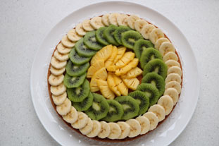 Exotic fruit tart : Photo of step #8