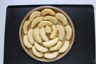 Alsatian apple tart : Photo of step #5