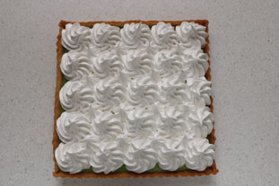 Lime meringue tart : Photo of step #12