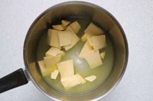 Lime meringue tart : Photo of step #3