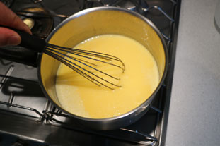 Lime meringue tart : Photo of step #5