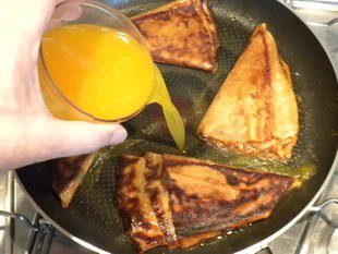 Crêpes Suzette : Photo of step #10