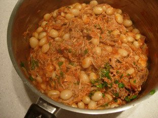 Beans with tomatoes : Photo of step #10