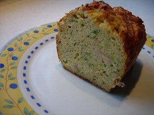 Leek and tuna loaf