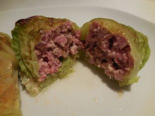 Stuffed cabbage leaves : Photo of step #14