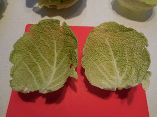 Stuffed cabbage leaves : Photo of step #3