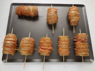 Potatoes with smoked salmon : Photo of step #5
