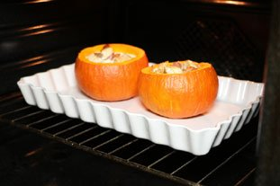 Stuffed pumpkin gratin : Photo of step #11