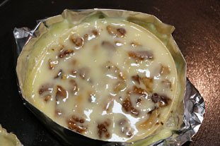 Baked Camembert with Walnuts : Photo of step #9