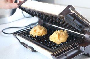 Potato Waffles with Smoked Salmon : Photo of step #7