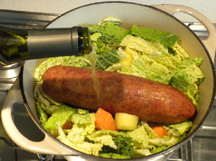 Winegrowers' sausage casserole : Photo of step #7