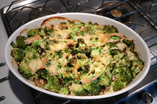 Two-cheese vegetable gratin : Photo of step #11