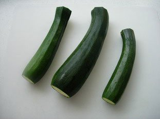 Courgettes (zuchinis)  : Photo of step #1