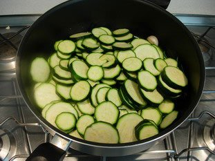 Courgettes (zuchinis)  : Photo of step #4