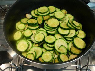 Courgettes (zuchinis)  : Photo of step #5