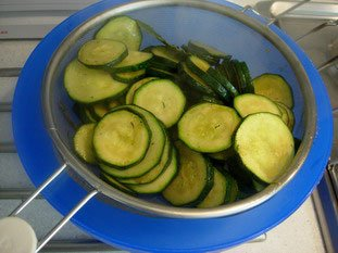 Courgettes (zuchinis)  : Photo of step #6