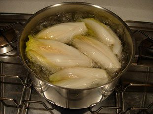 How to prepare endives  : Photo of step #3