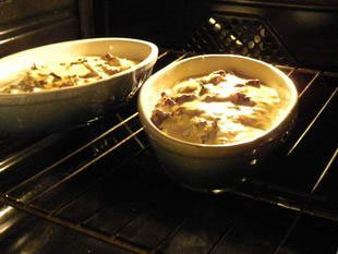 Individual creamy endive gratins : Photo of step #6