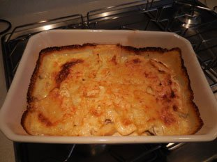 Celeriac and mushroom gratin : Photo of step #10
