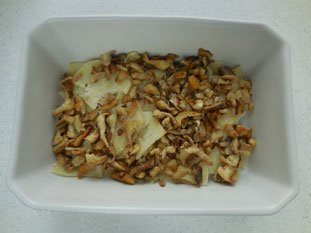 Celeriac and mushroom gratin : Photo of step #8