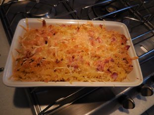 Ham pasta bake : Photo of step #5