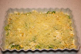 Layered Leek and Egg Gratin  : Photo of step #6